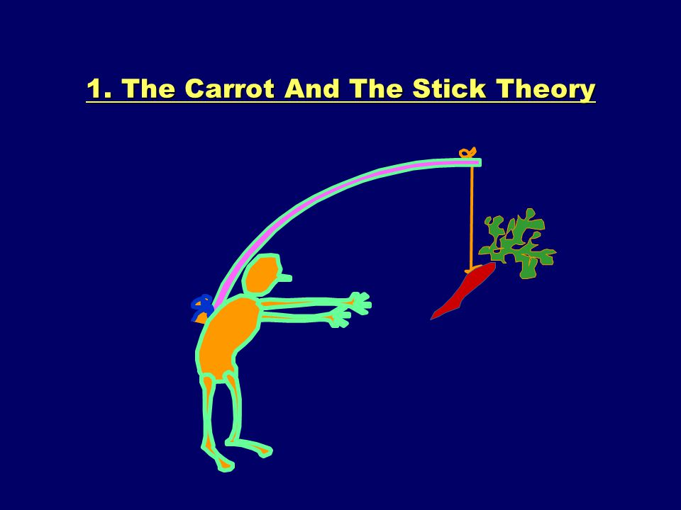 1. The Carrot And The Stick Theory