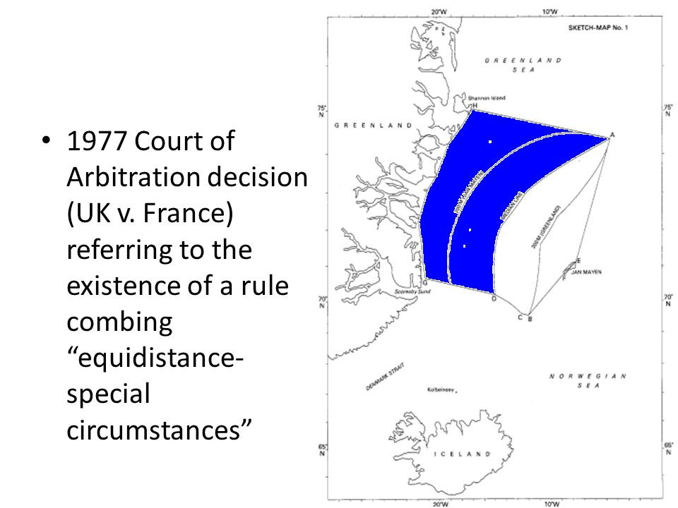 1977 Court of Arbitration decision (UK v