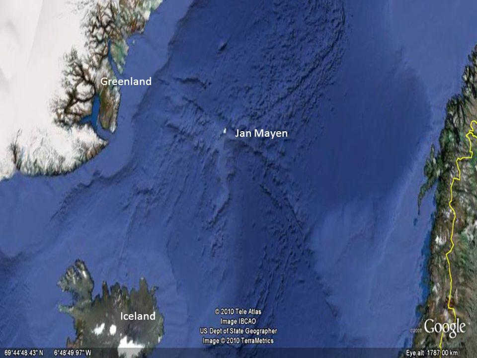 Greenland Jan Mayen Iceland