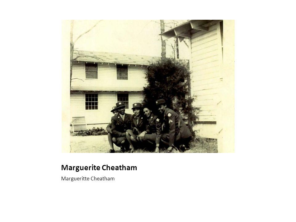 Marguerite Cole Cheatham