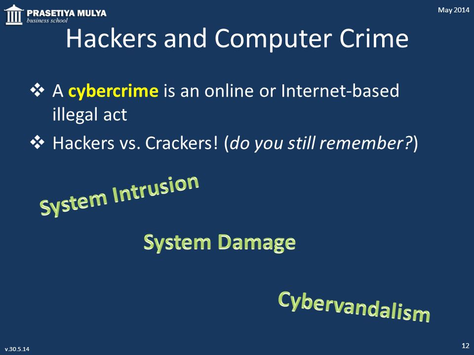 Hackers and Computer Crime