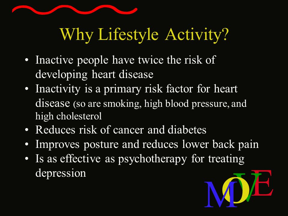 Why Lifestyle Activity