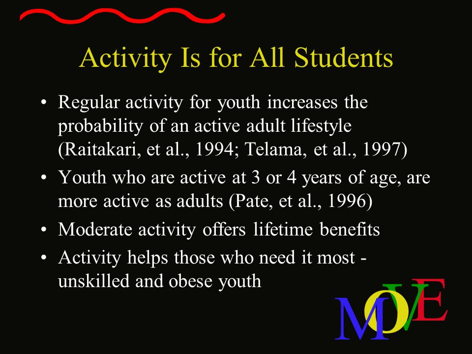 Activity Is for All Students