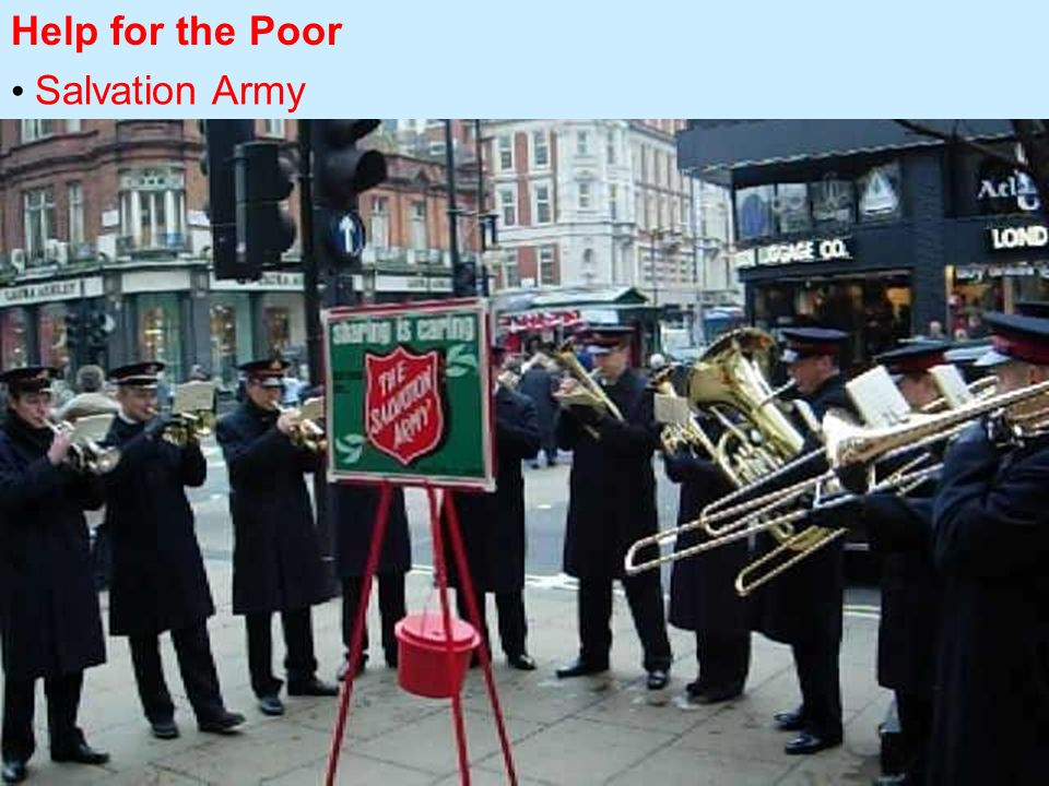 Help for the Poor Salvation Army