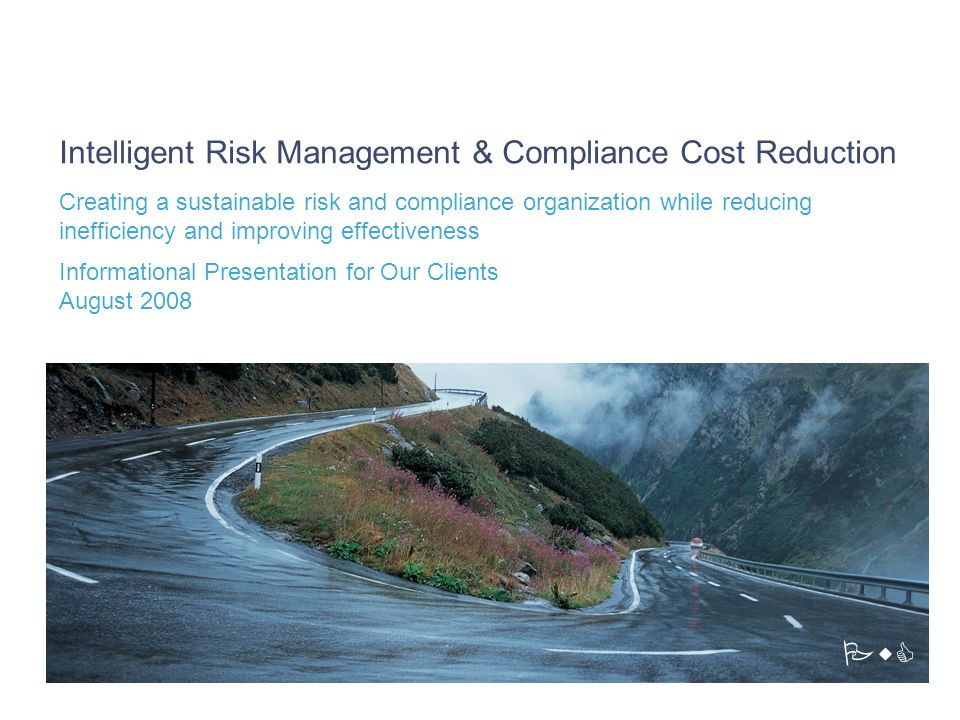 Intelligent Risk Management & Compliance Cost Reduction
