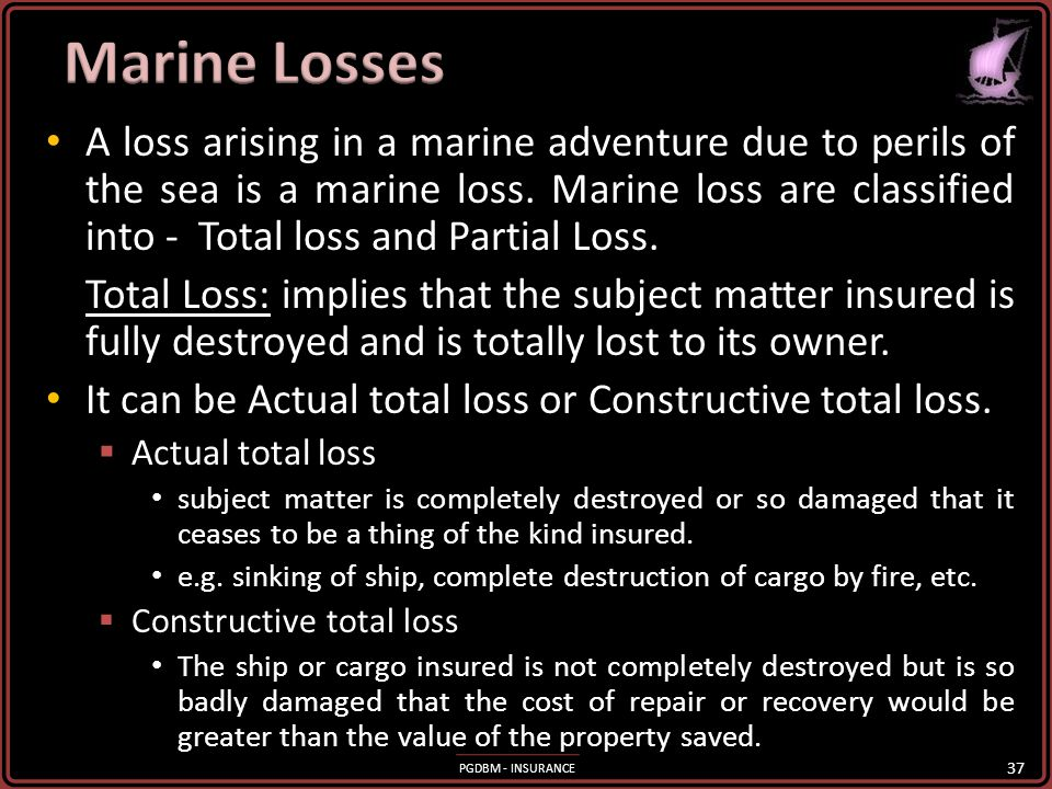 Marine Losses