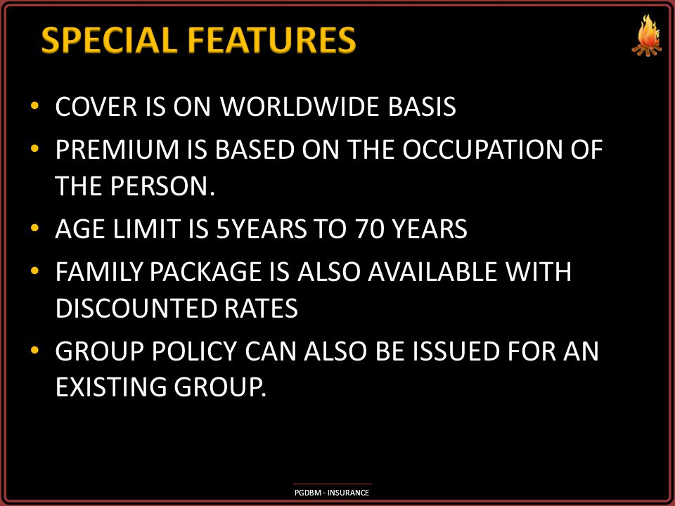 SPECIAL FEATURES COVER IS ON WORLDWIDE BASIS