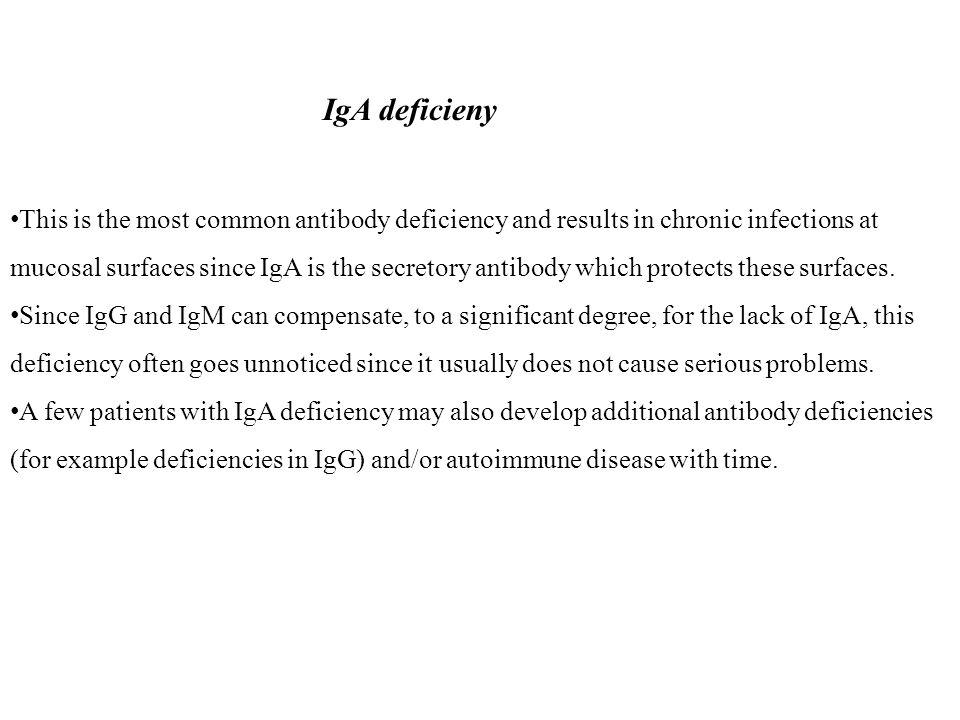 IgA deficieny