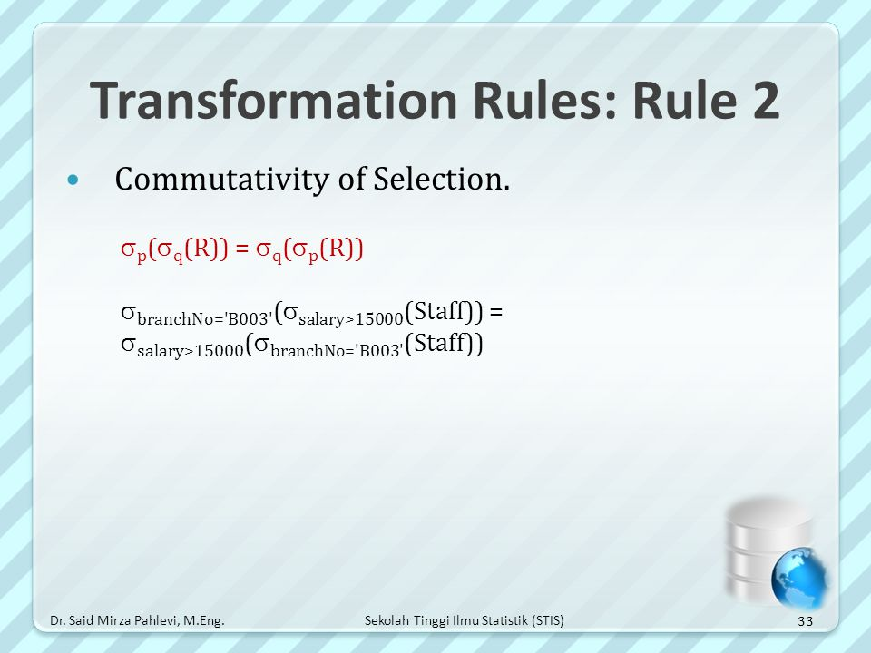 Transformation Rules: Rule 2