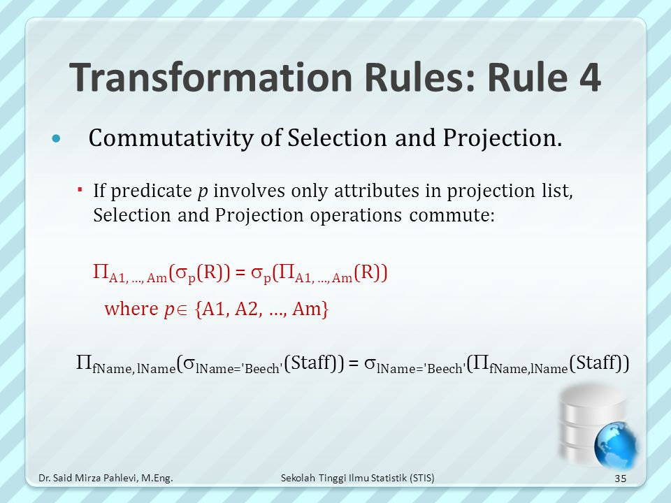 Transformation Rules: Rule 4