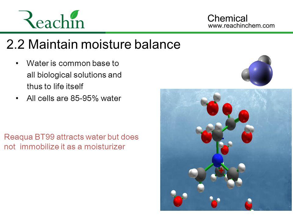2.2 Maintain moisture balance