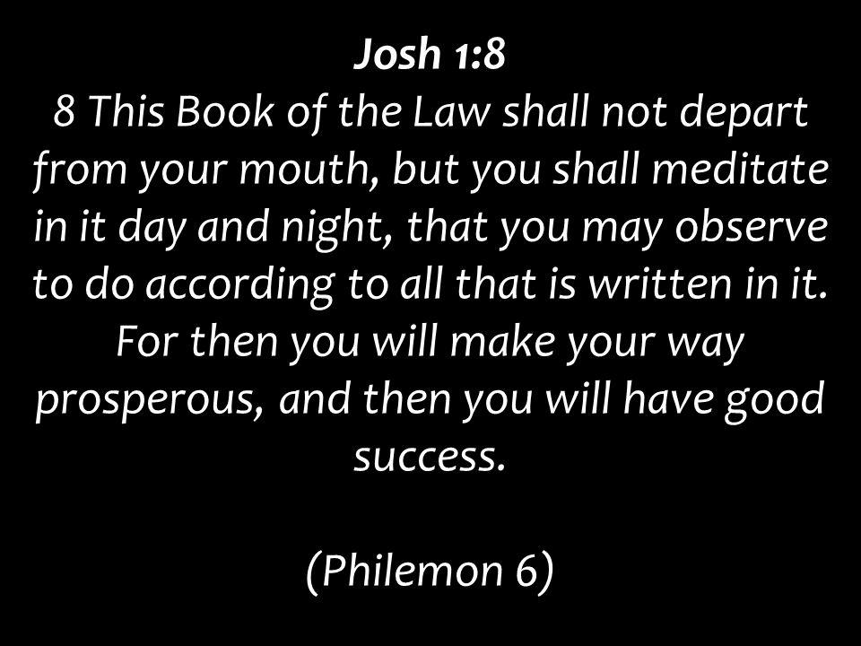 Josh 1:8