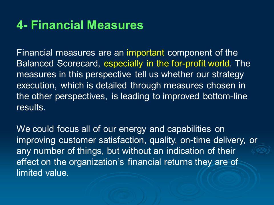 4- Financial Measures