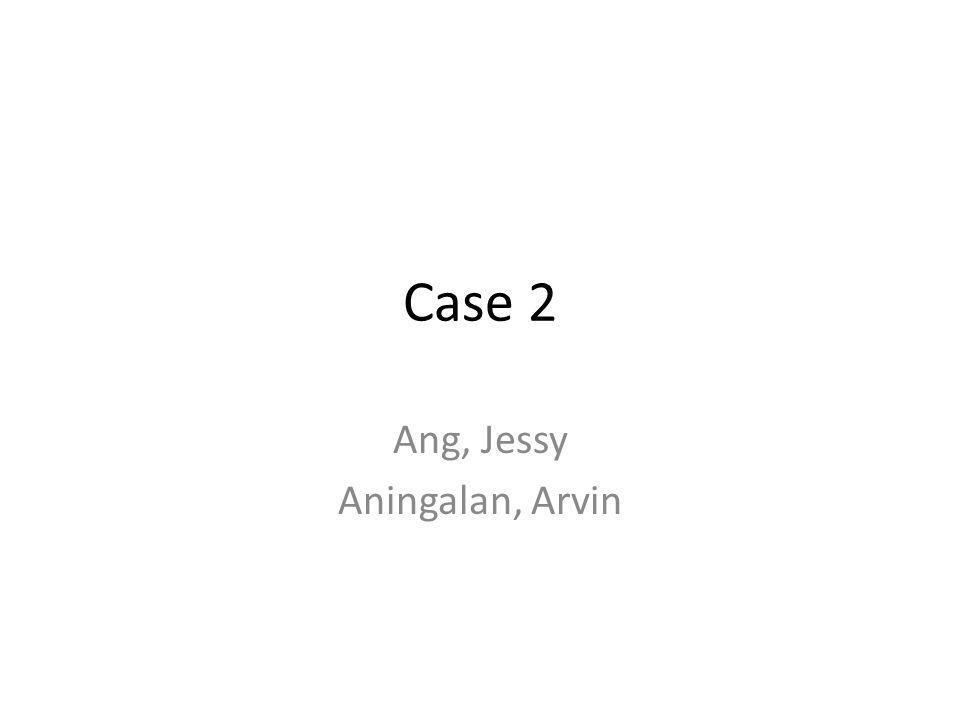 Ang, Jessy Aningalan, Arvin