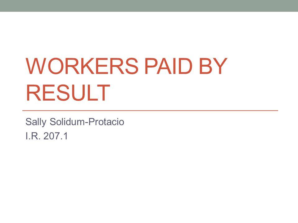 Sally Solidum-Protacio I.R. 207.1