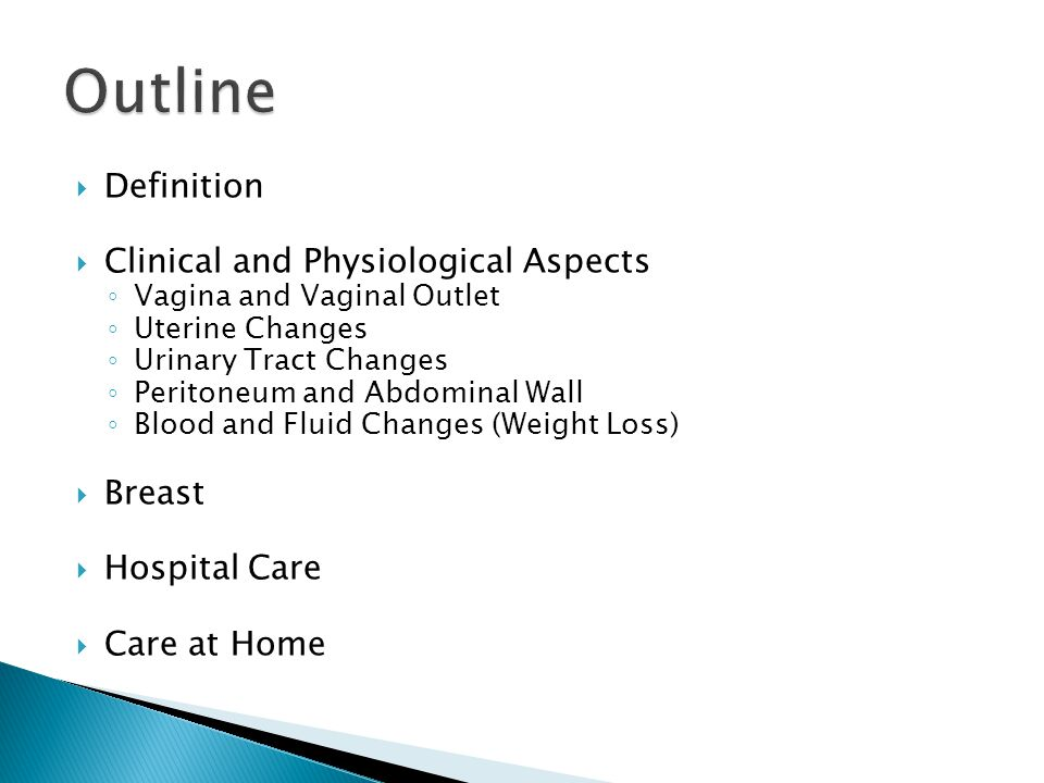 Outline Definition Clinical and Physiological Aspects Breast