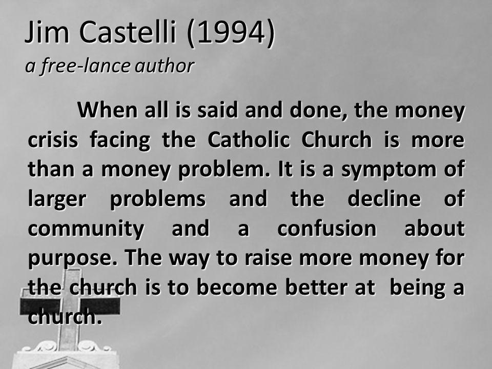 Jim Castelli (1994) a free-lance author