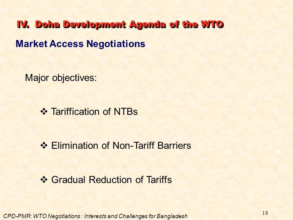 Market Access Negotiations