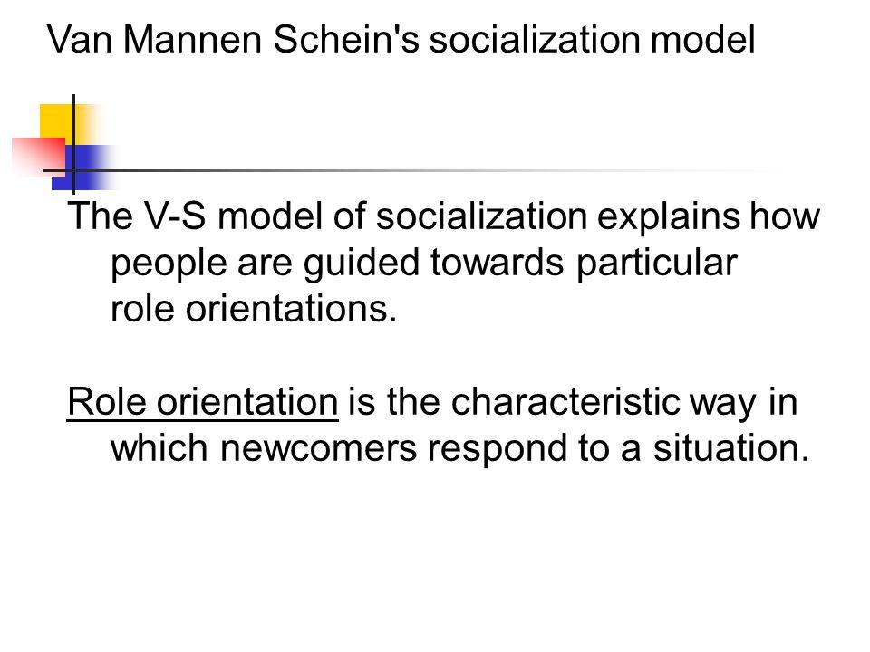 Van Mannen Schein s socialization model