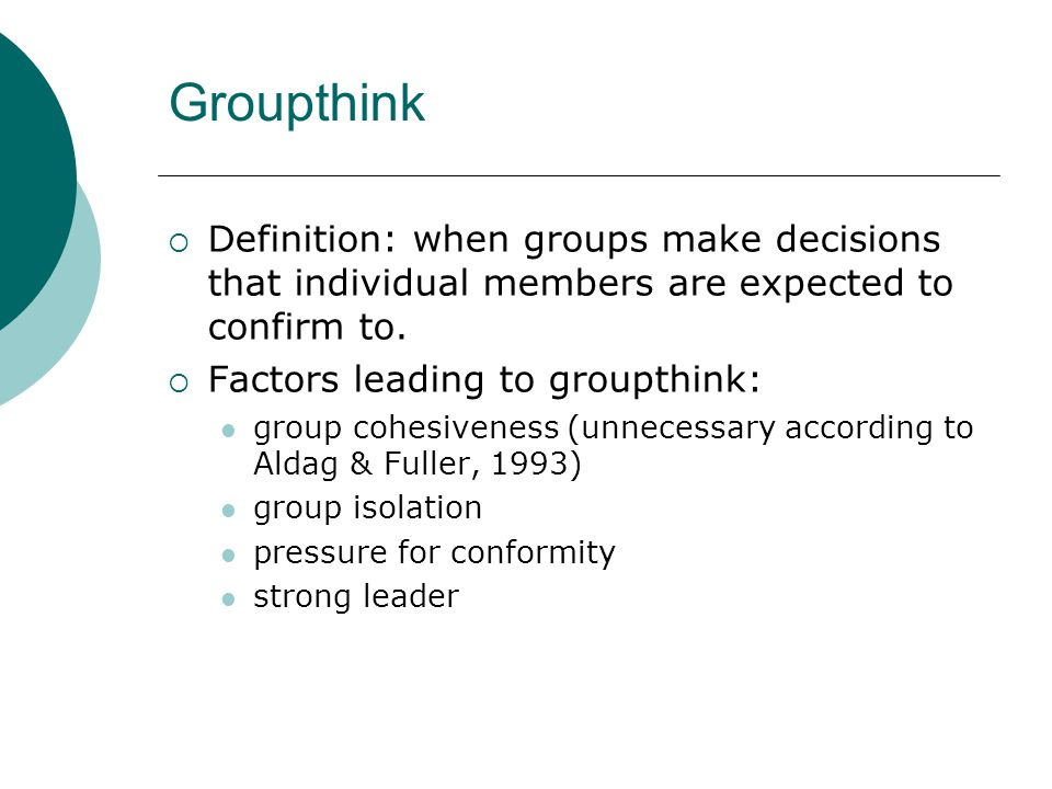 factors that influence individual and group dynamics Influence how productive a group or a team  together in a group setting group dynamics can  participation of an individual to a direction that.