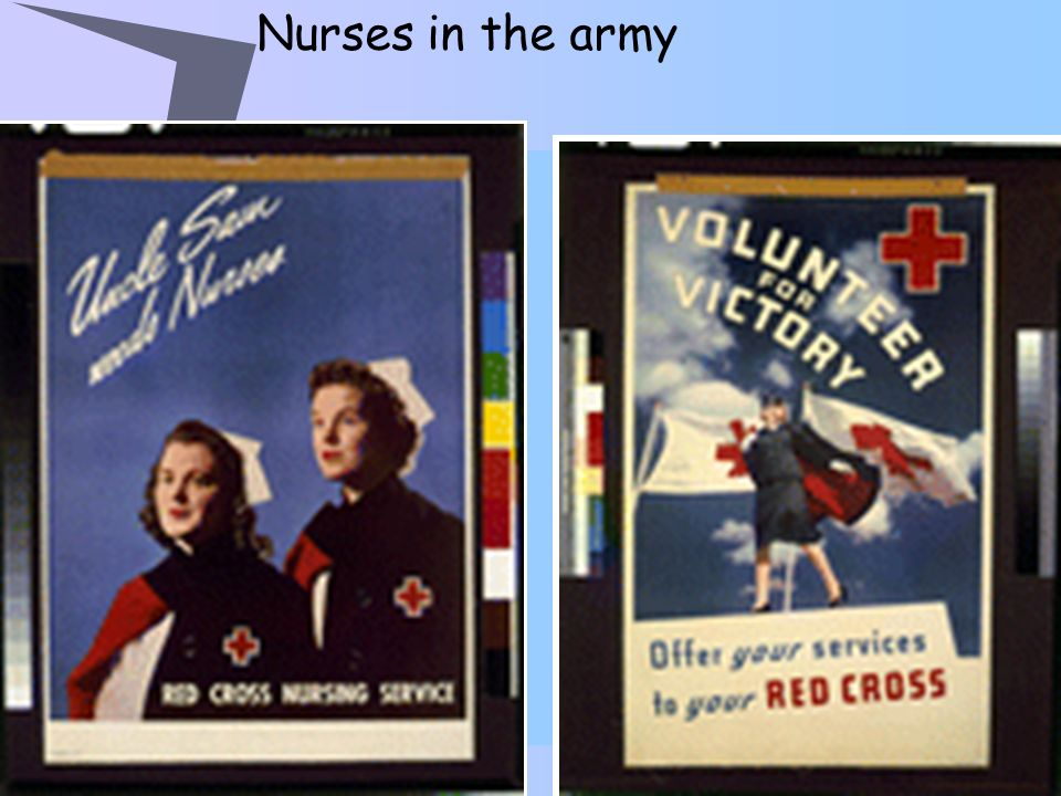 Nurses in the army