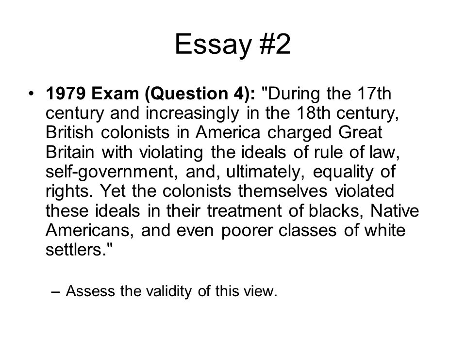 Essay #2