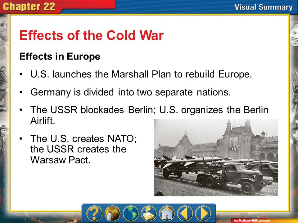 Effects of the Cold War Effects in Europe