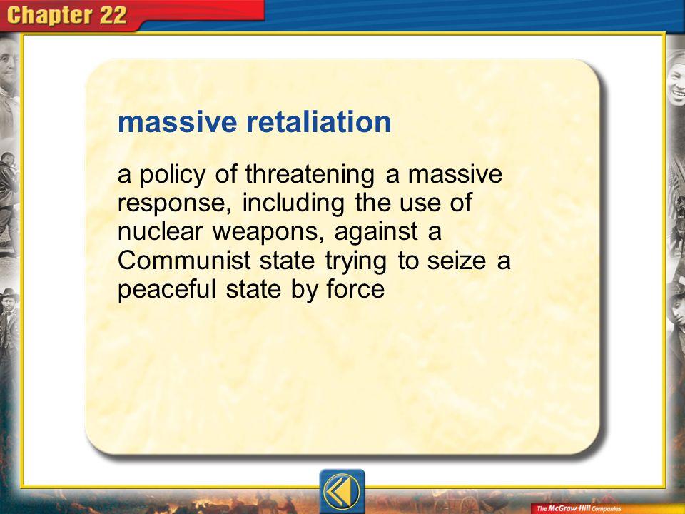 massive retaliation