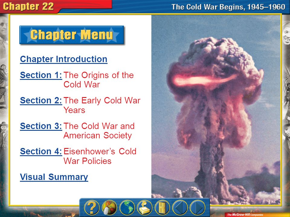 Section 1: The Origins of the Cold War