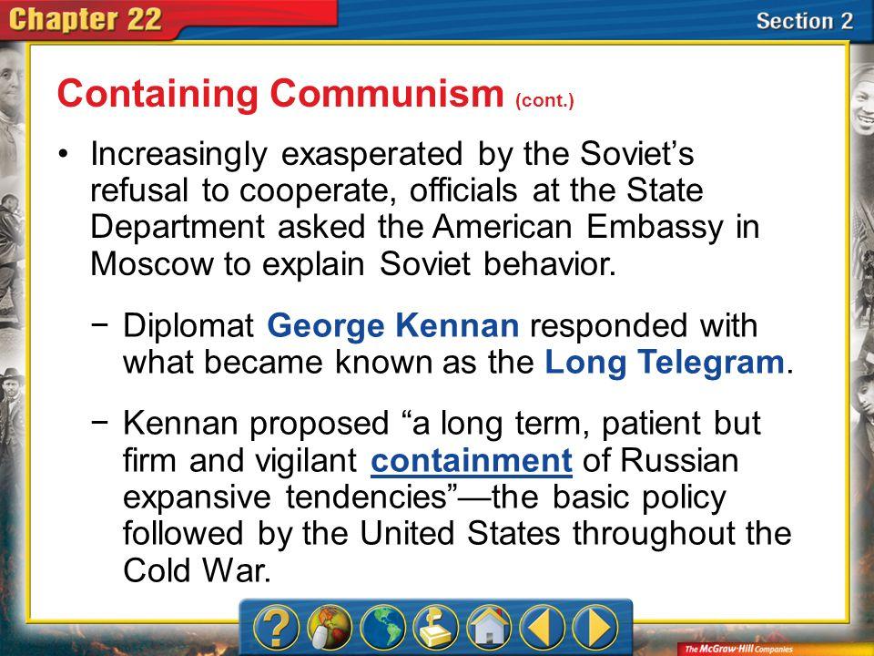 Containing Communism (cont.)