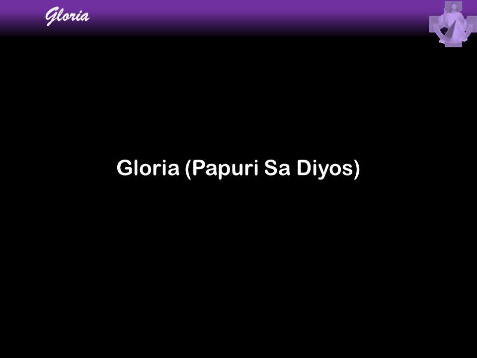 Gloria (Papuri Sa Diyos)