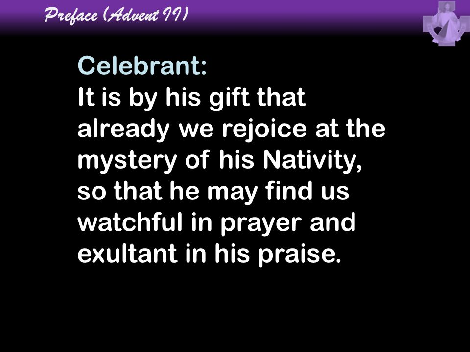 Preface (Advent II)