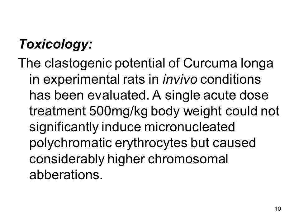 Toxicology: