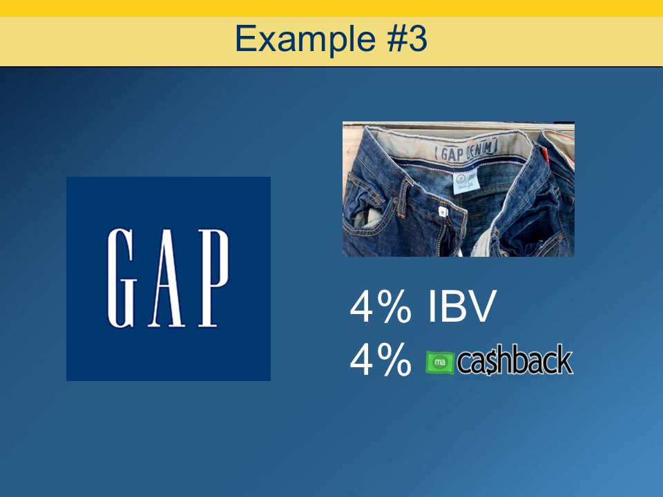 07/08/10 Example #3 4% IBV 4% 11 11