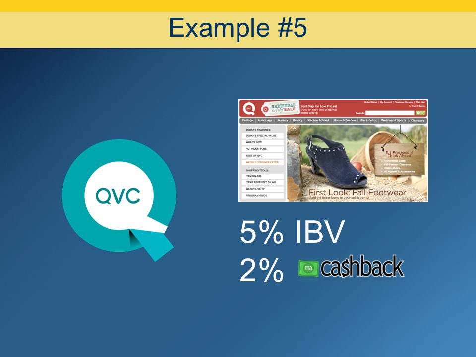 07/08/10 Example #5 5% IBV 2%