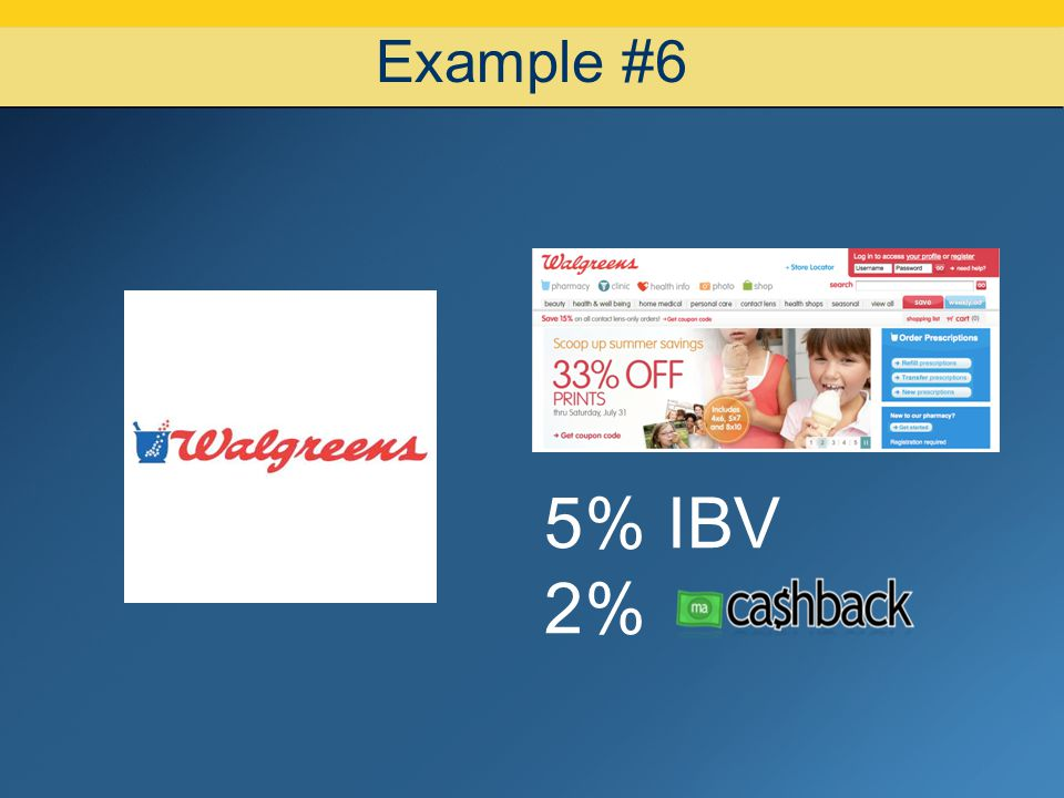 07/08/10 Example #6 5% IBV 2% 14 14