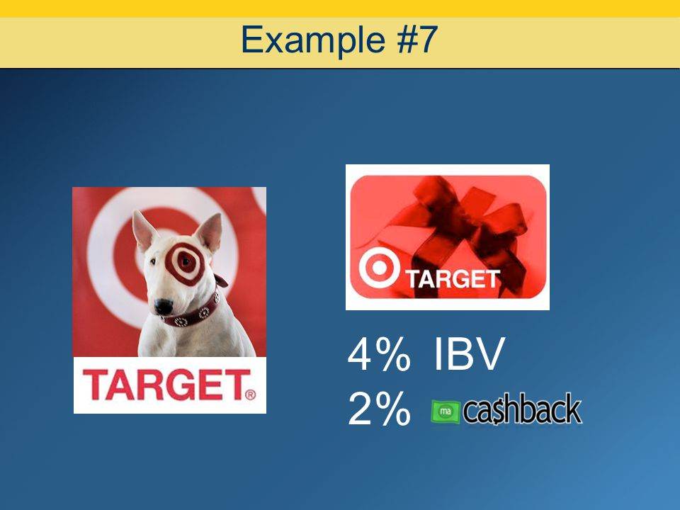 07/08/10 Example #7 4% IBV 2% 15 15