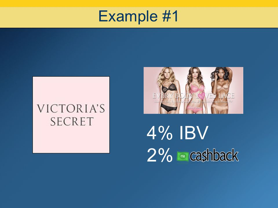 07/08/10 Example #1 4% IBV 2%
