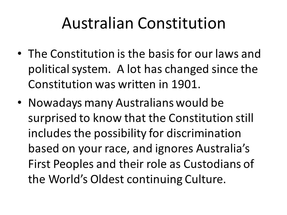 Australian Constitution