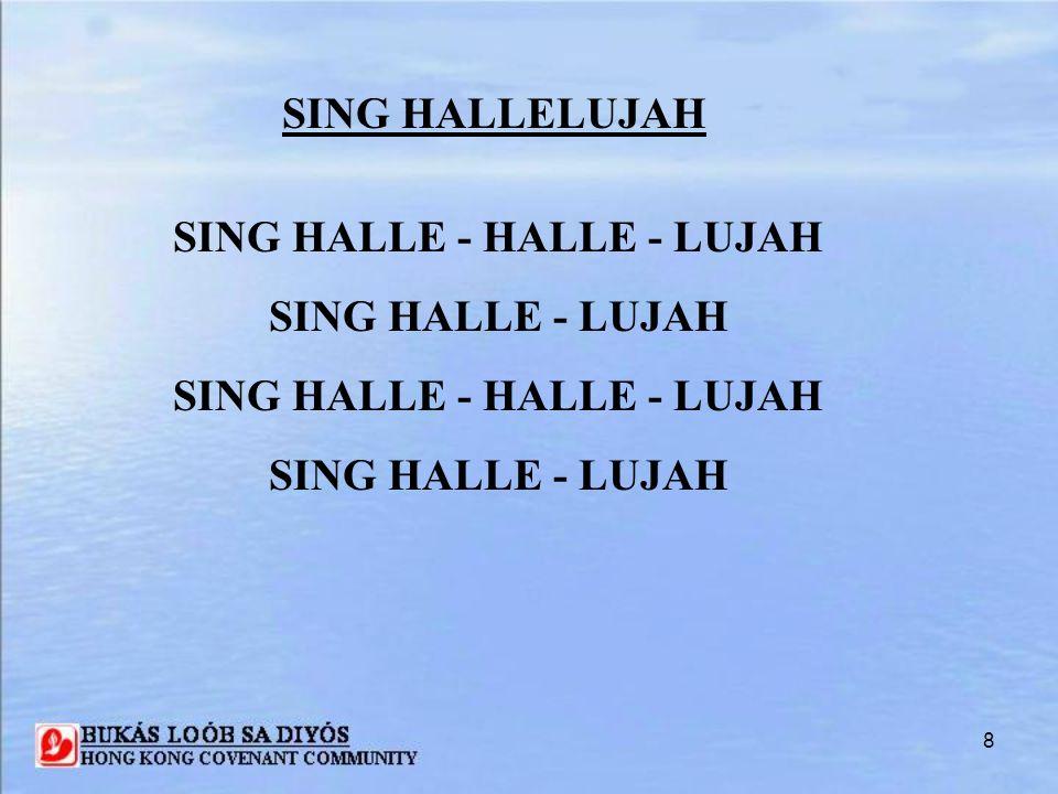 SING HALLE - HALLE - LUJAH