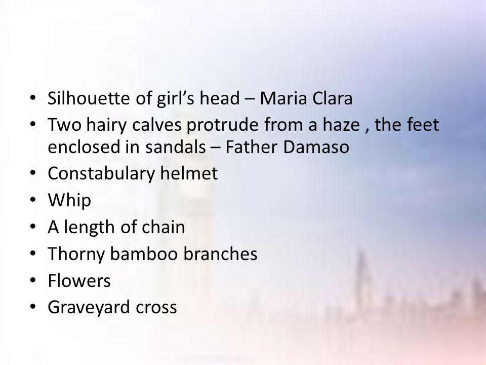 Silhouette of girl's head – Maria Clara