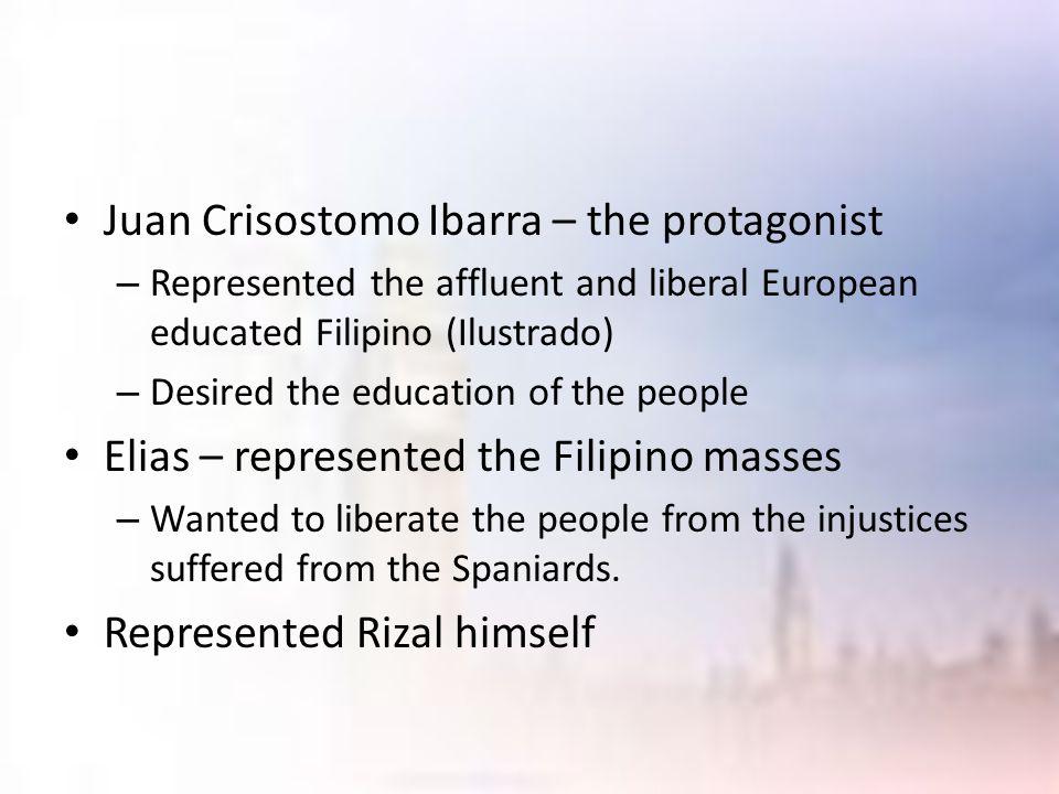 Juan Crisostomo Ibarra – the protagonist