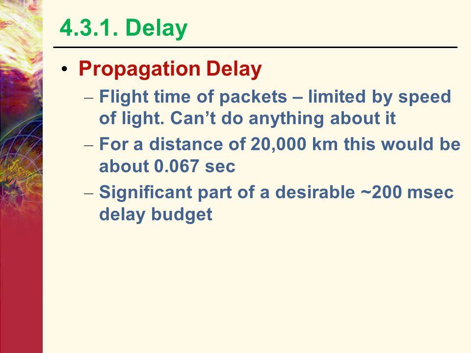 4.3.1. Delay Propagation Delay