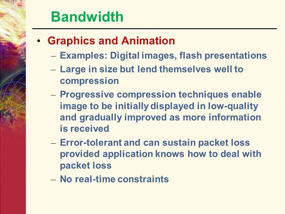 Bandwidth Graphics and Animation