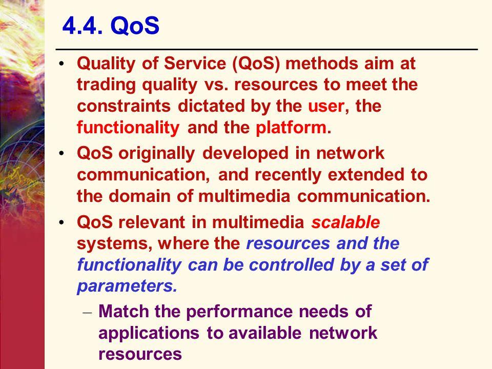 4.4. QoS