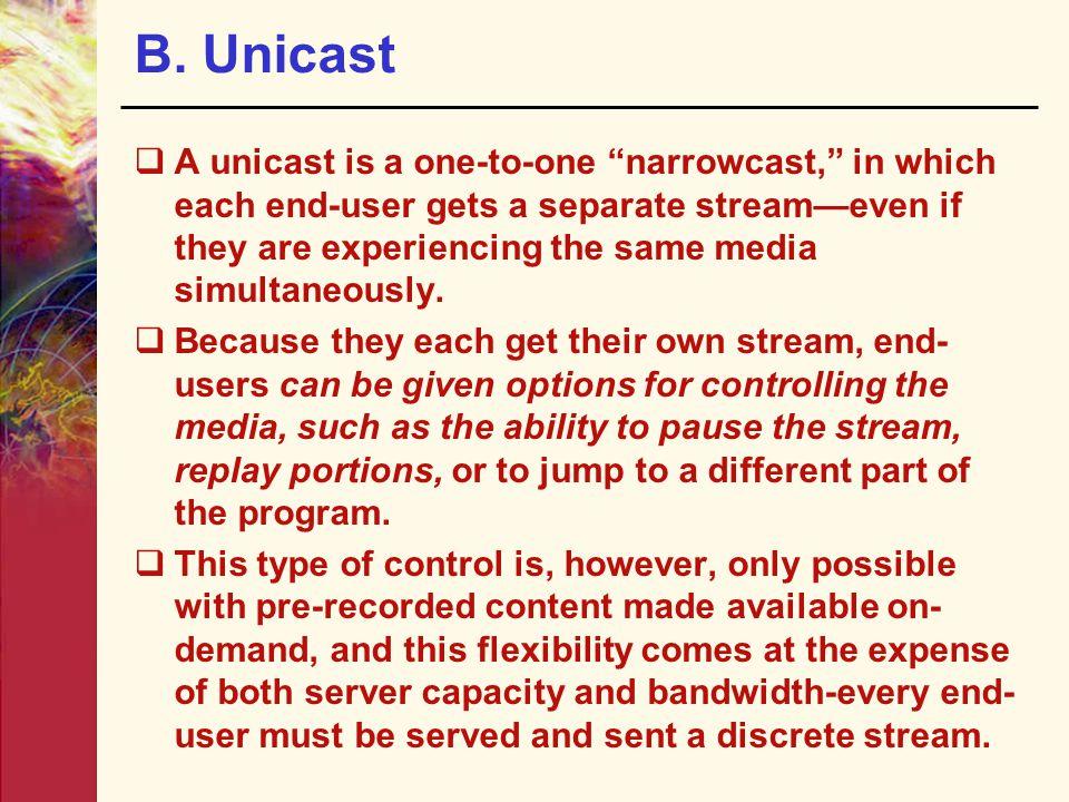 B. Unicast