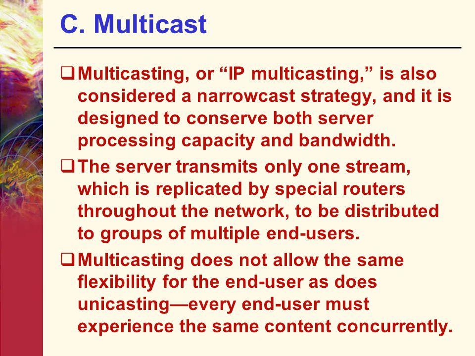 C. Multicast