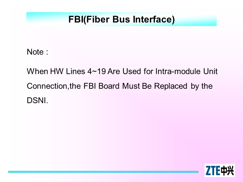 FBI(Fiber Bus Interface)