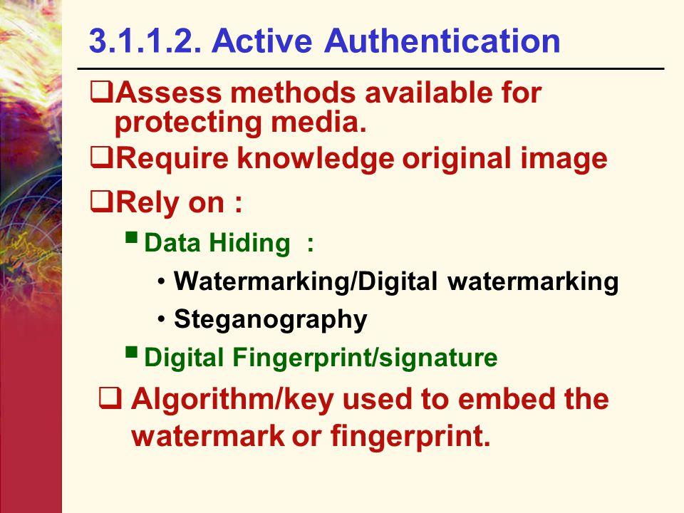 3.1.1.2. Active Authentication