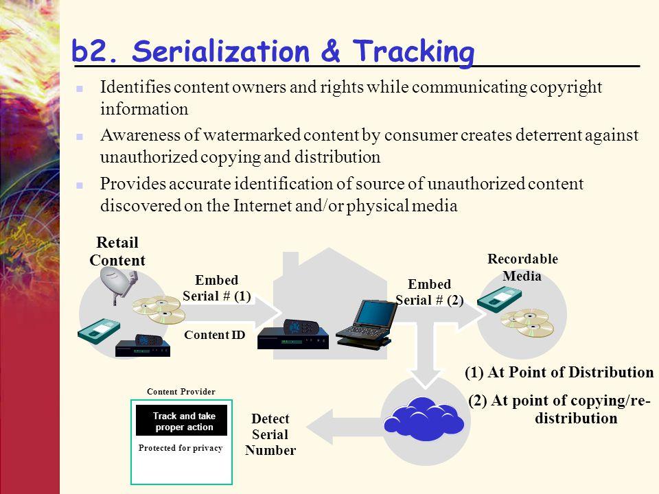 b2. Serialization & Tracking